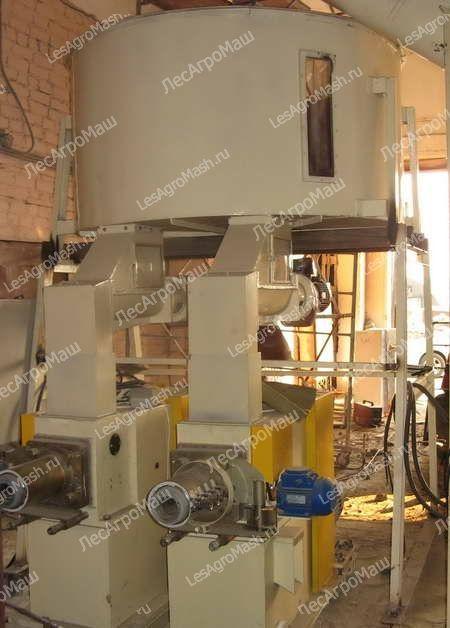Линия производства топливных брикетов ЛПБ-800 - от Производителя