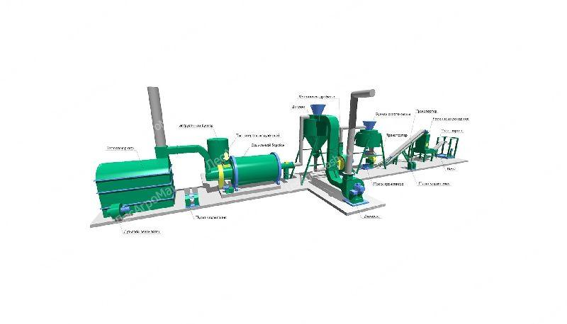 Линия оборудования для производства топливных пеллет ЛПП-1000 - от Производ