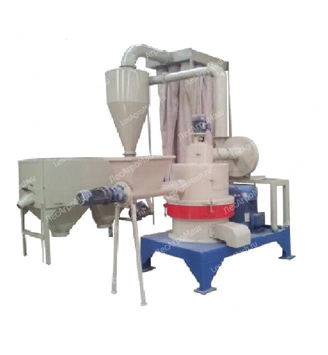Линия производства древесной муки ДМ(У)-400 - от Производителя