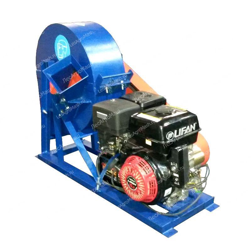 Дисковая рубительная машина (щепорез) ВРМх-400 (бензиновый двигатель) - от