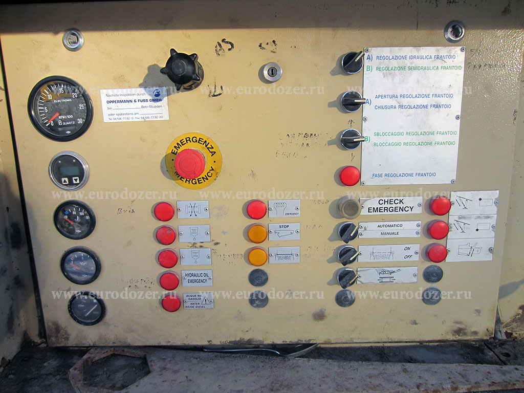 Щековая дробилка REV 100, 180 т/час