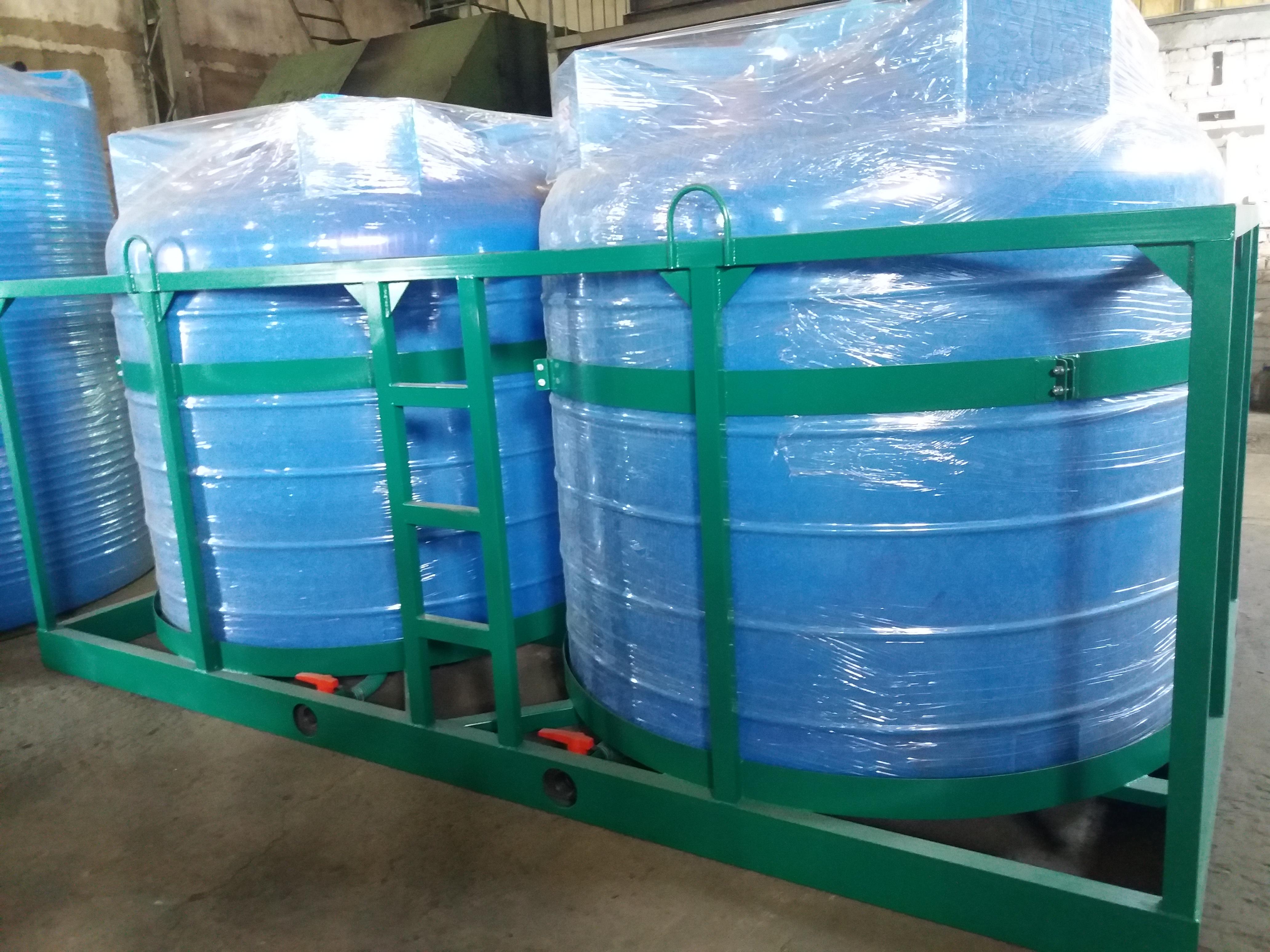 Емкости для перевозки воды и удобрений
