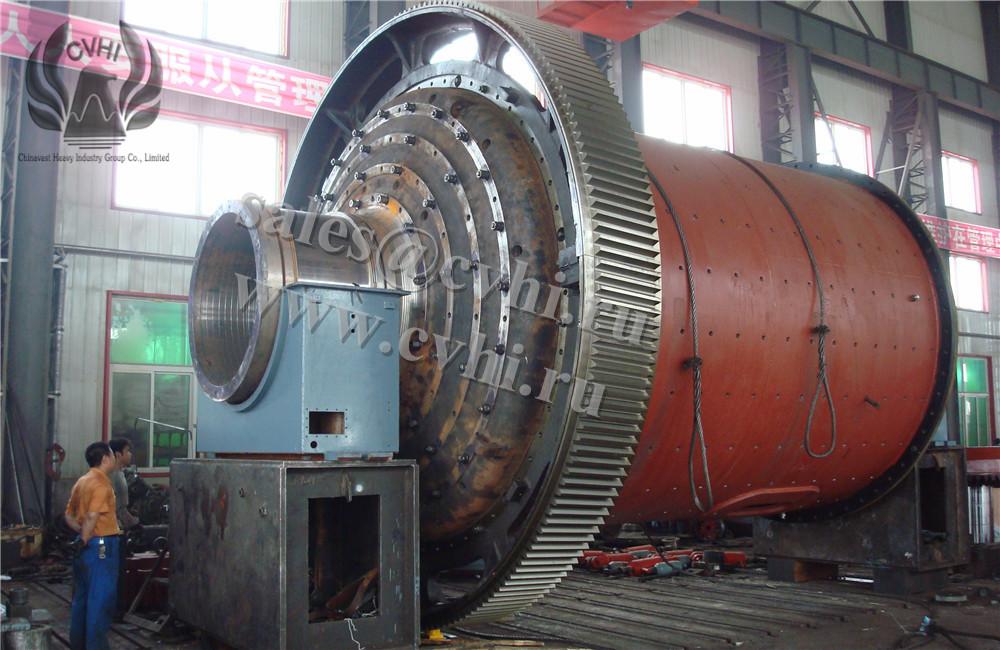 Шаровая мельница мокрого помола с решеткой (МШР)