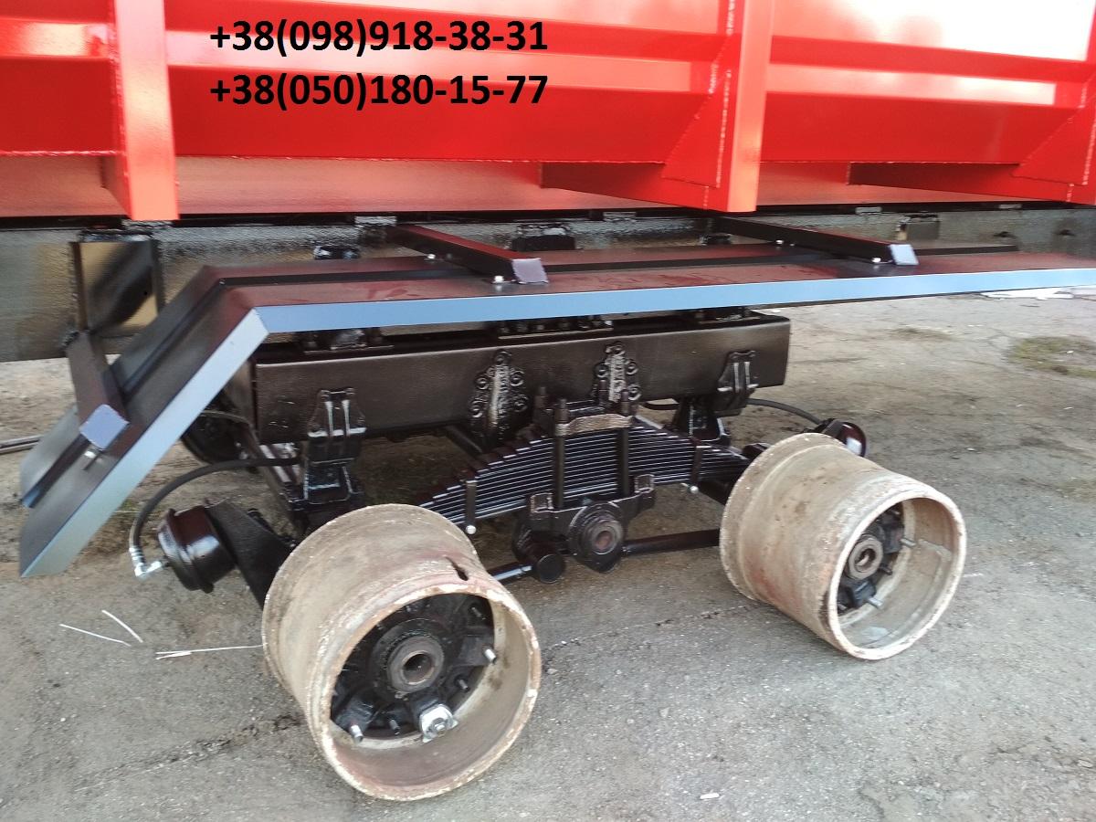 Прицеп тракторный НТС-16 (гидроборт)