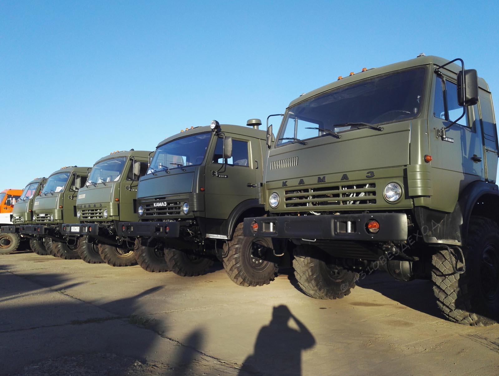 военные  вездеходы 6х6, камаз 4310, с  хранения