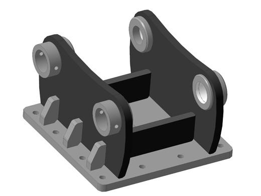 Сменная переходная плита на гидромолот под экскаватор купить
