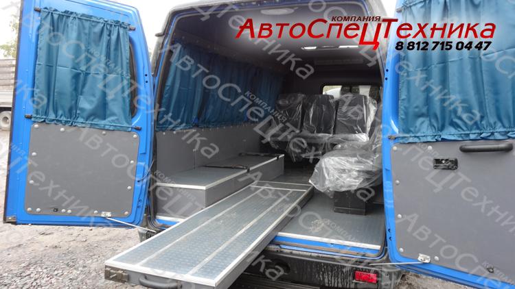 Автомобиль для ритуальных услуг (катафалк) ГАЗ-2705 ГАЗель