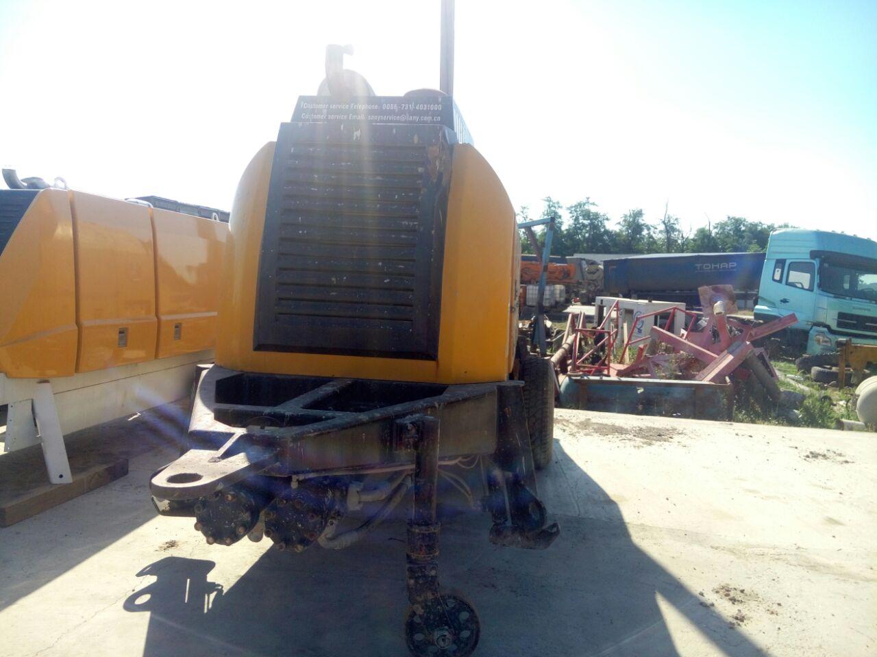 Стационарный бетононасос Sany HBT60C