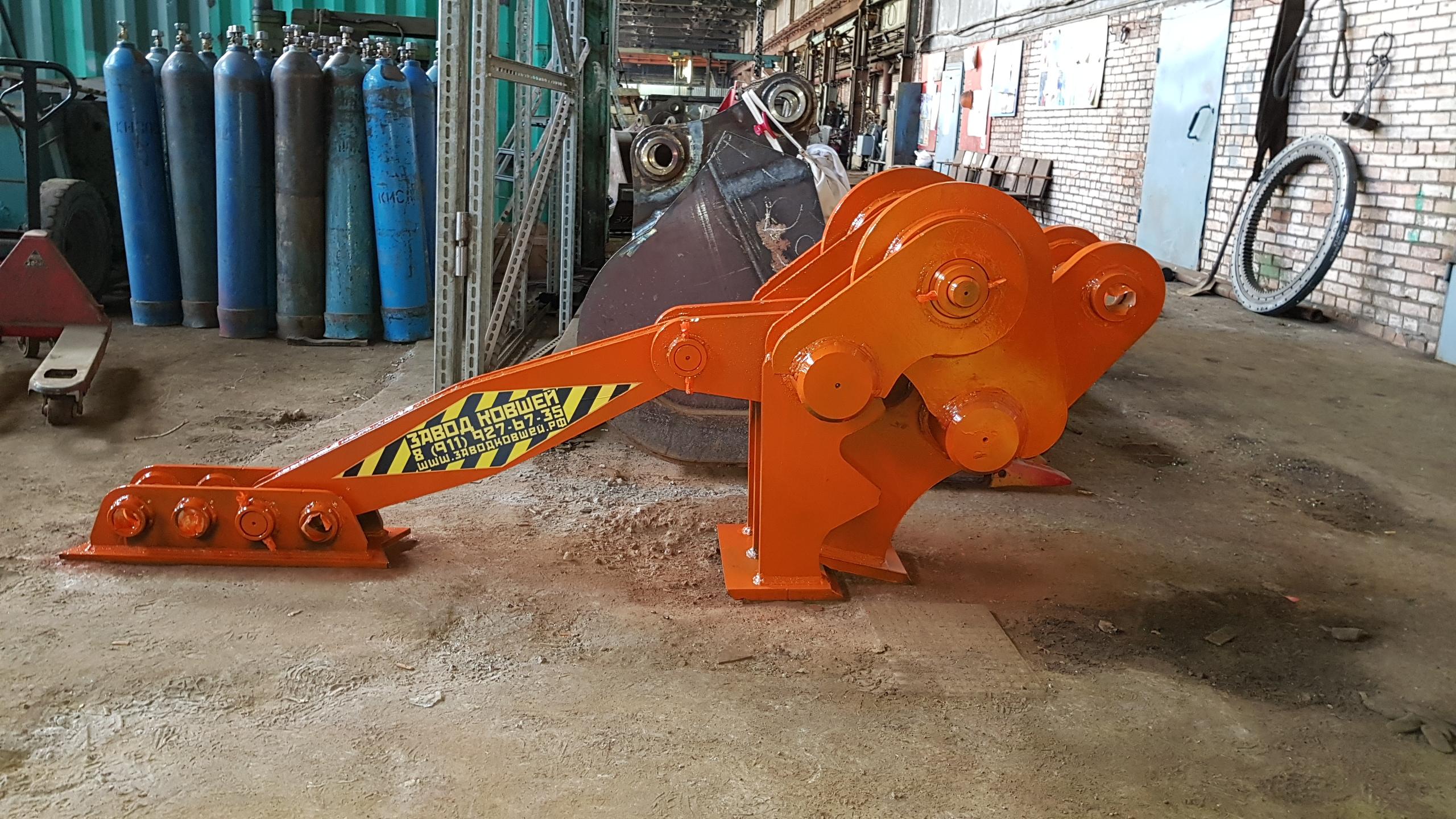 Крашер - мощный механический бетонолом