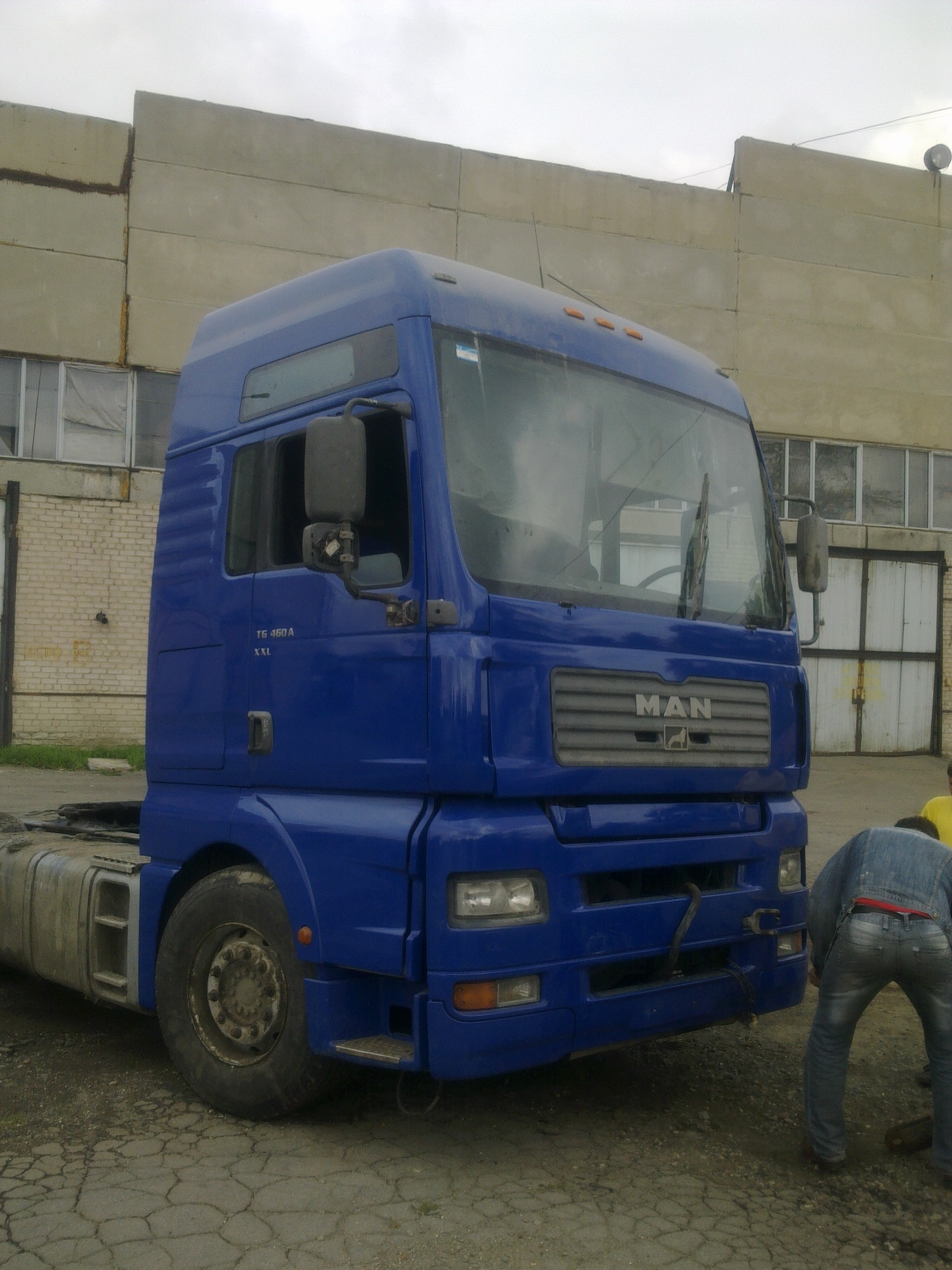 Кузовной ремонт грузовиков