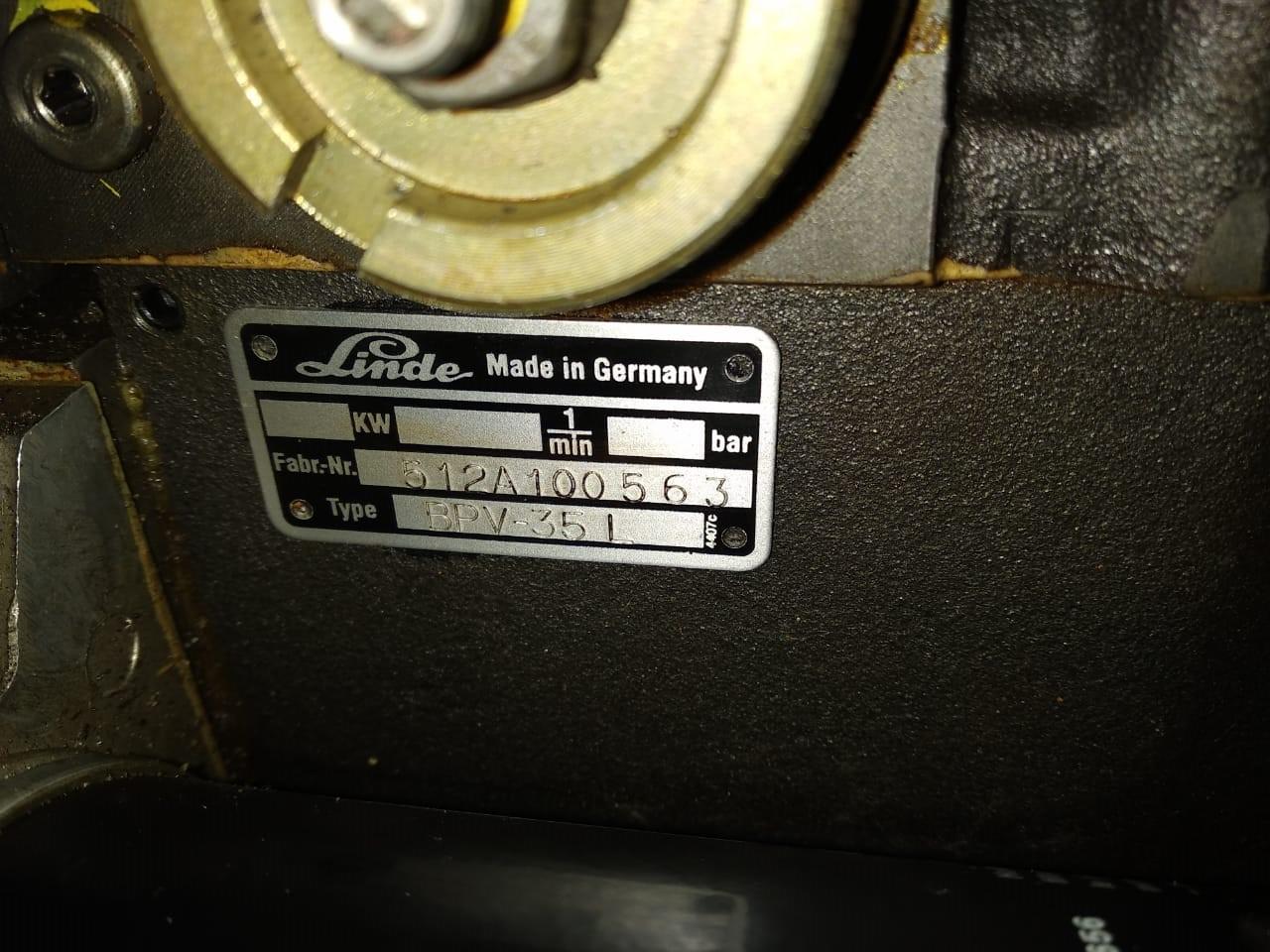 Гидронасос Linde BPV35 L для бульдозера liebherr