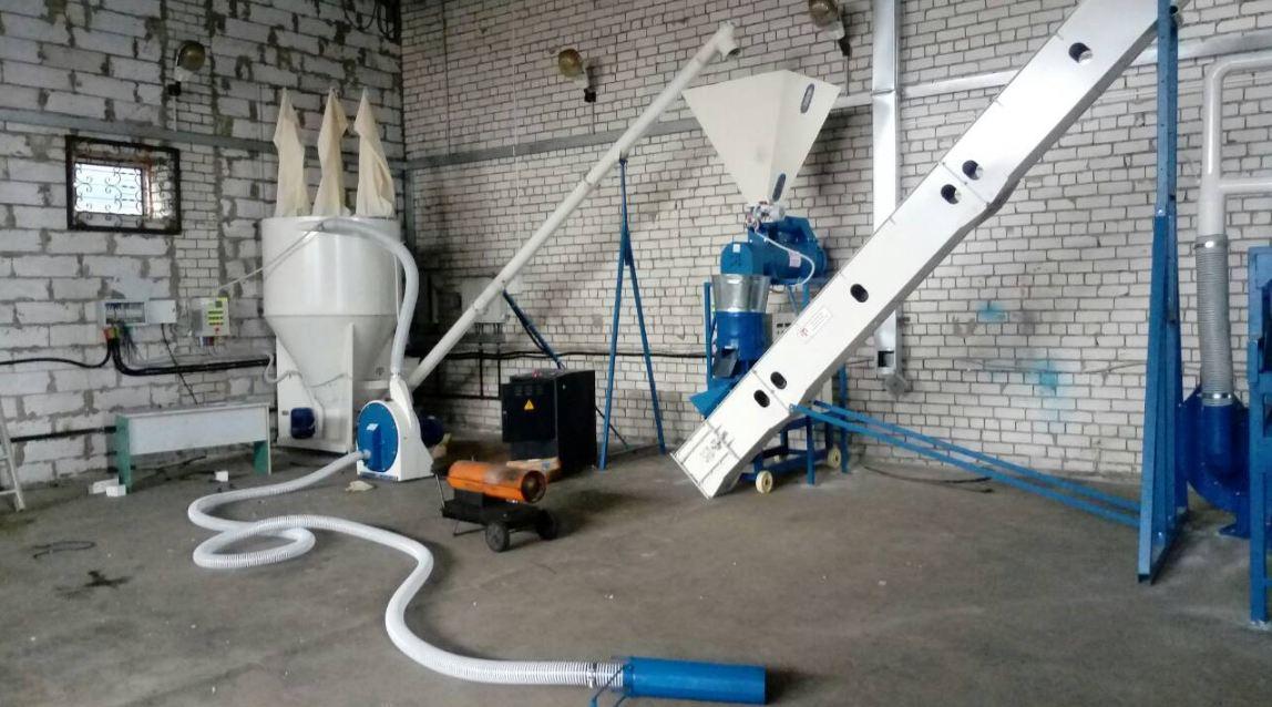 Комбикормовый мини-завод ПРОК-700 кг + Гранулятор 500 кг
