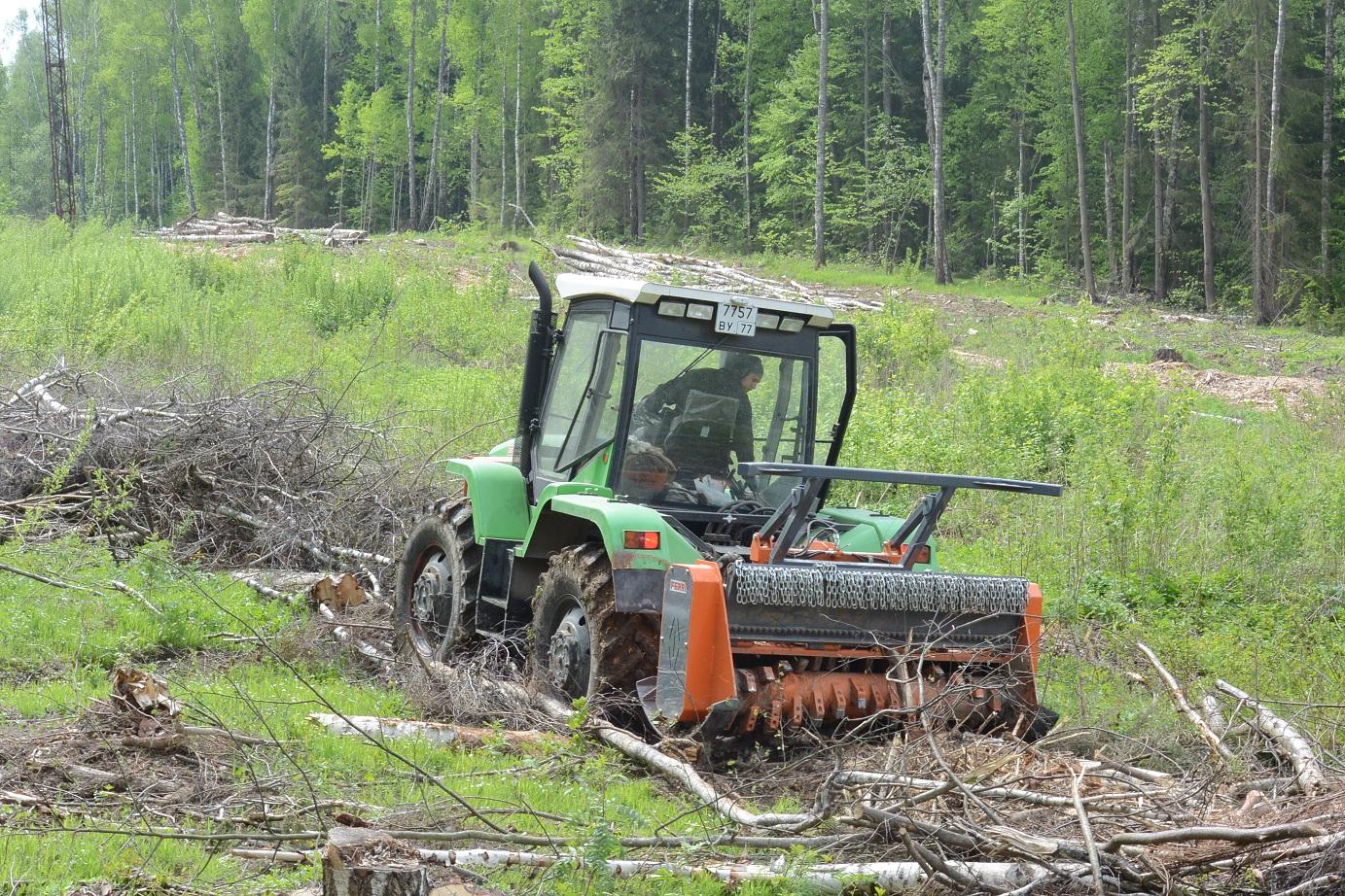 Аренда Мульчера на трактор