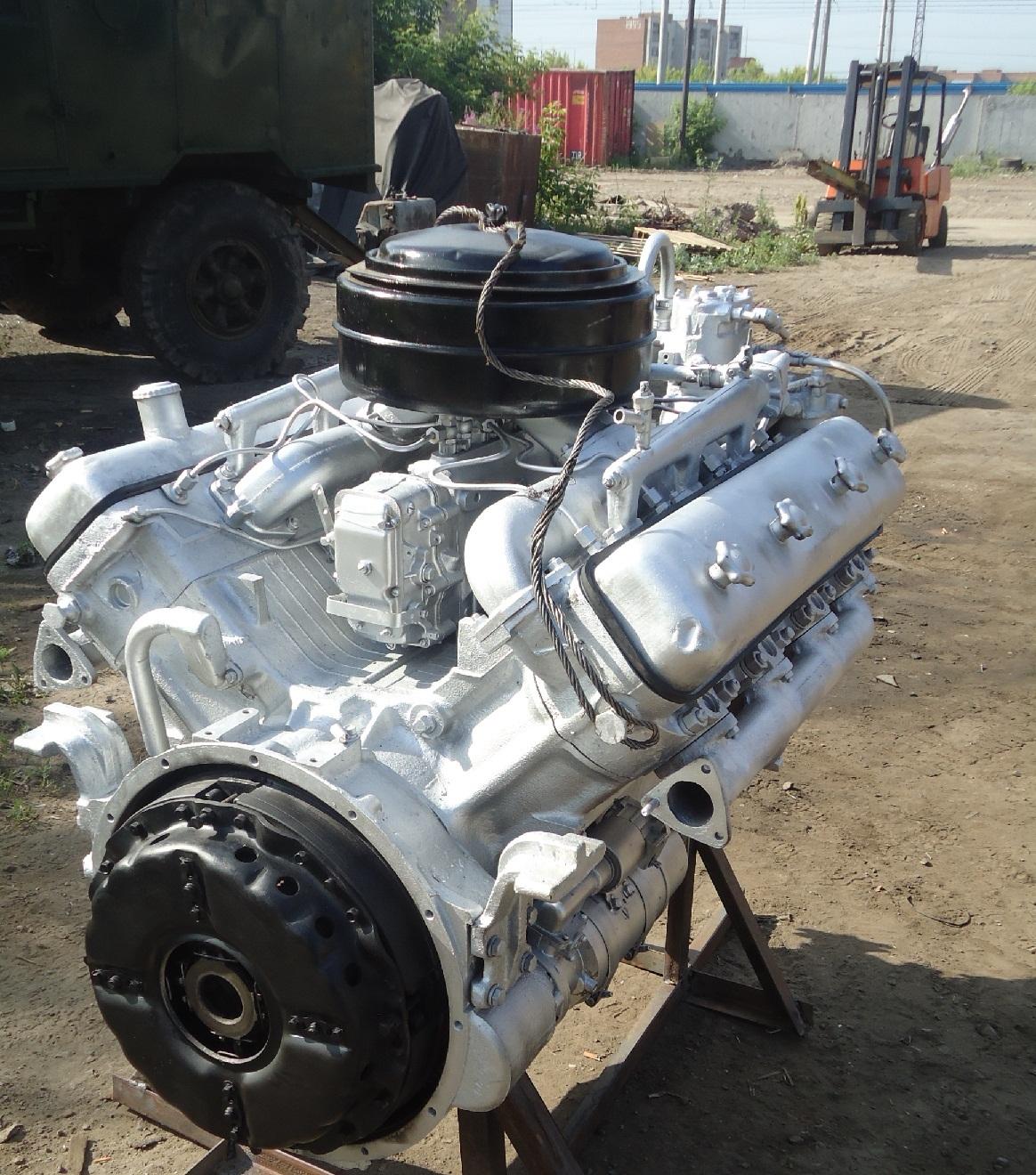 Двигатели ЯМЗ-236, ЯМЗ-238 и КПП с хранения