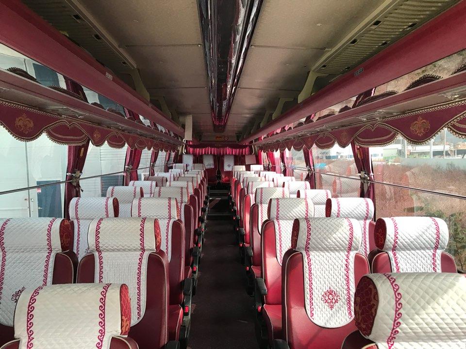 Туристический автобус Kia Granbird Silkroad