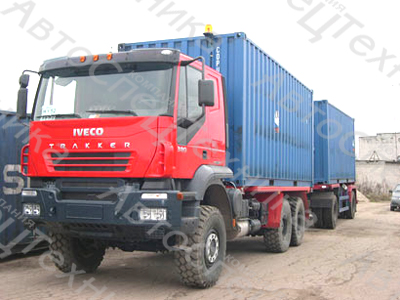 Iveco Trakker - для перевозки опасных грузов