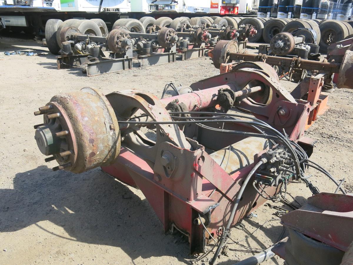 Ось полуприцепа SAF барабанные тормоза короба, 2011