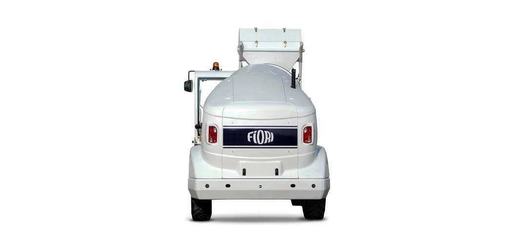 Бетоносмеситель с самозагрузкой Fiori DB X25 самоходный бетонозавод 10м3/ч