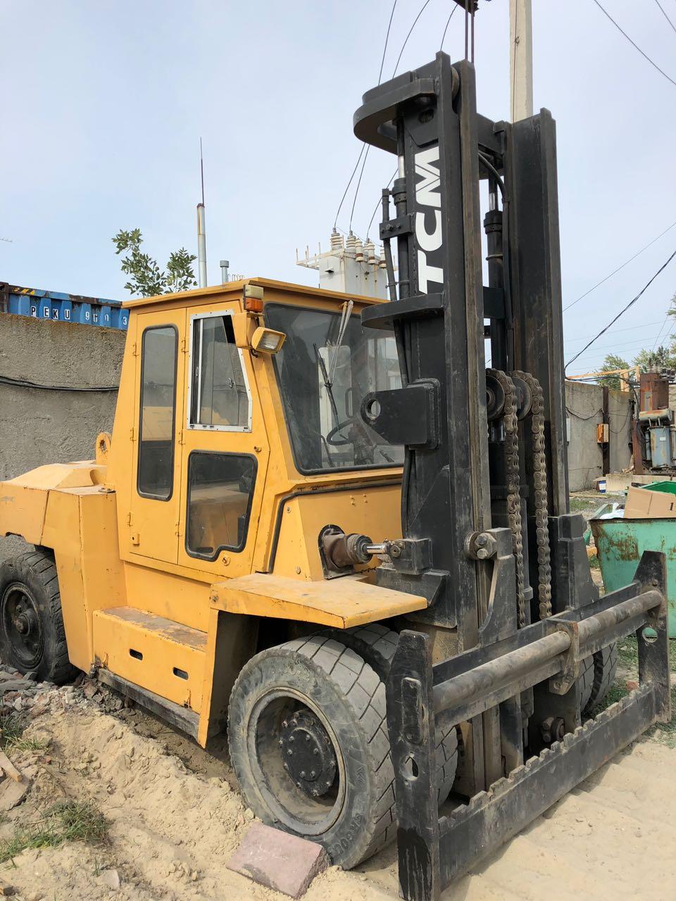Продаётся Погрузчик TCM FD100Z8, грузоподъемность 10 тонн