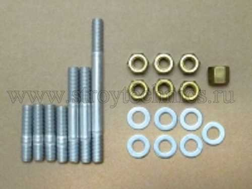 Шпильки крепления турбокомпрессора ЗМЗ-51432 Евро-4 с гайками комплект