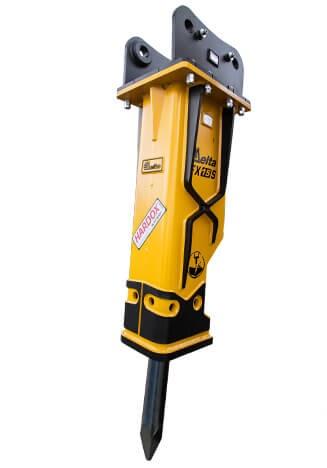 Гидромолот Delta FX 15S к экскаватору Doosan DX 190W