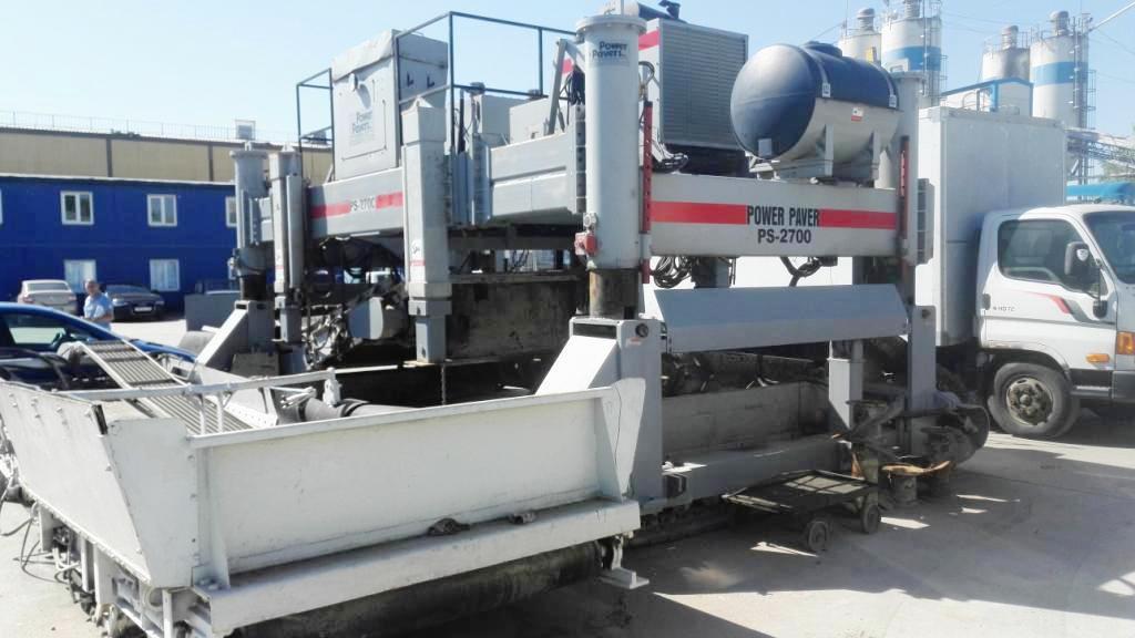 Распределитель бетонной смеси Power Pavers PS 2700