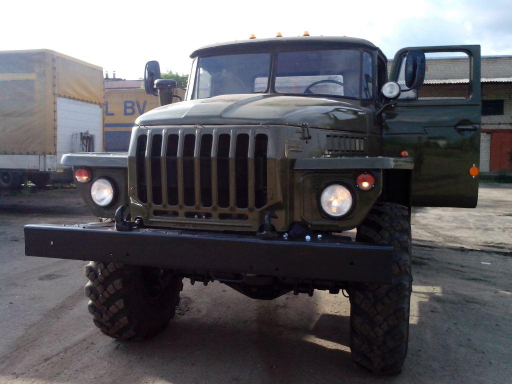 Урал-4320 ( шасси, двс-Камаз-740, конверсия с хранения).
