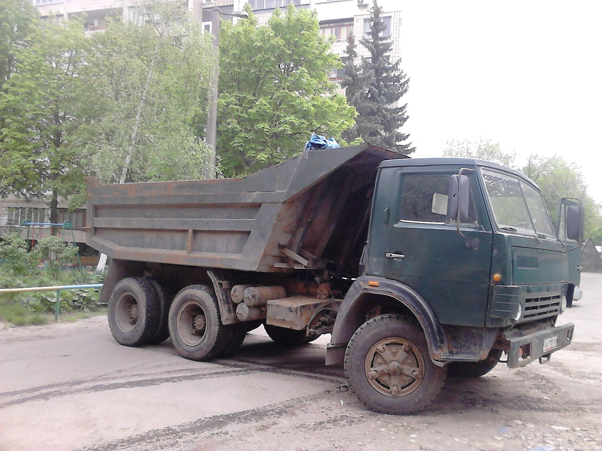 Аренда самосвалов Киев. Вывоз строительного мусора.