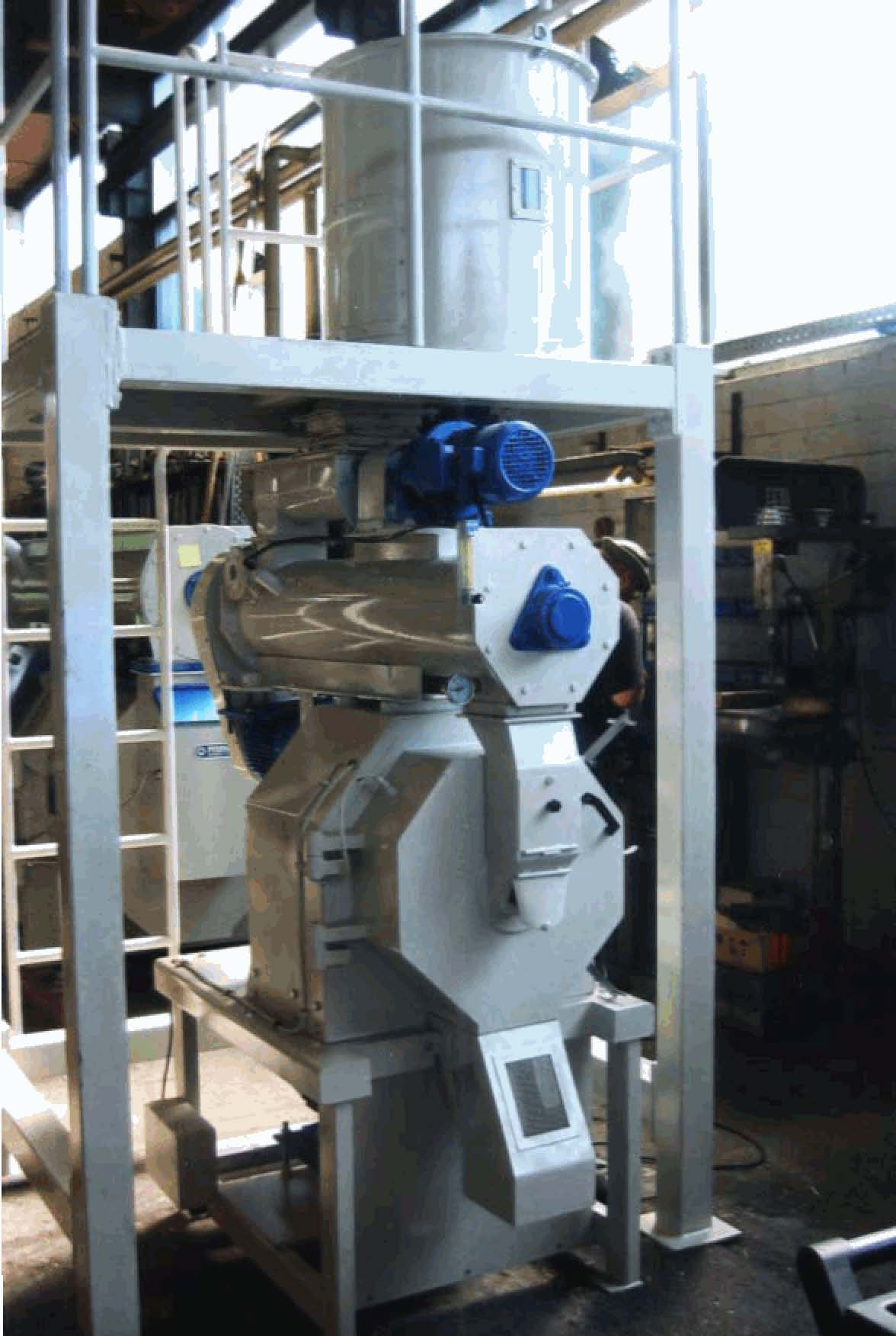 Производство пеллет в домашних условиях из опилок - m 8