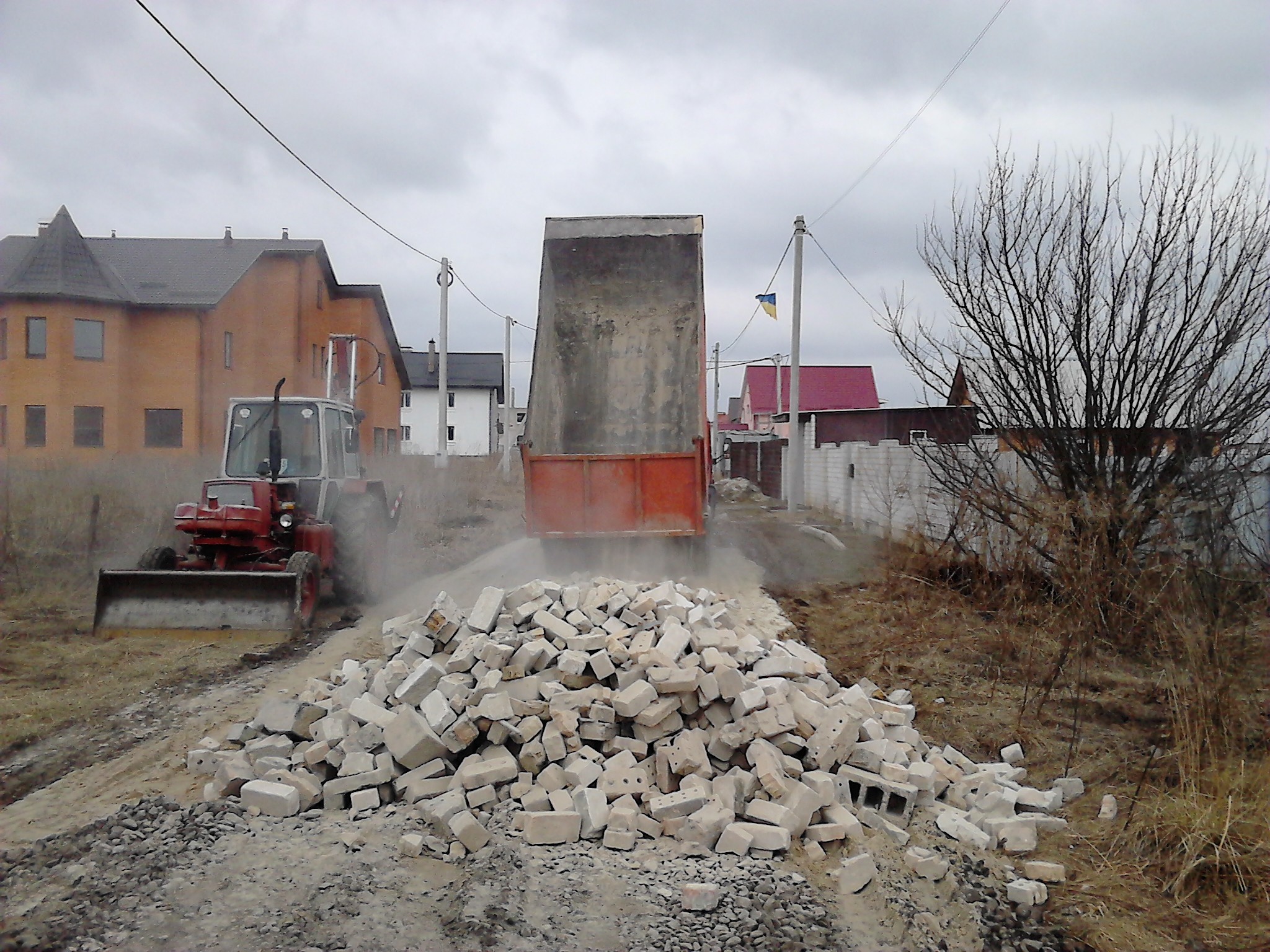Продам строительный мусор Киев. Доставка строймусора Киев.