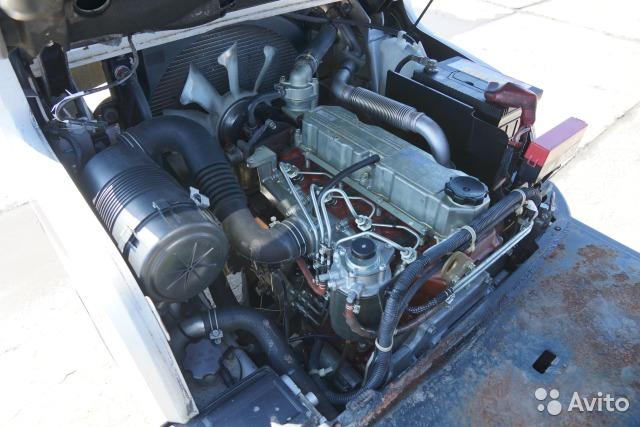 Погрузчик вилочный Nissan, 1.5 тн, дизель, 2010 г