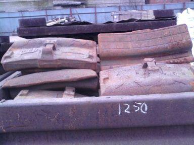 Колодка локомотивная гребневая тип М новая на складе