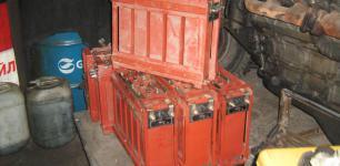 Аккумулятор 5НК-125 с хранения