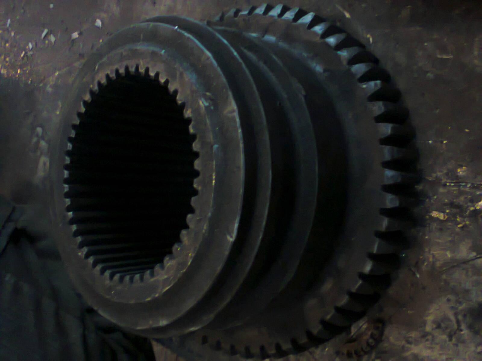 Зубчатые колеса и валы