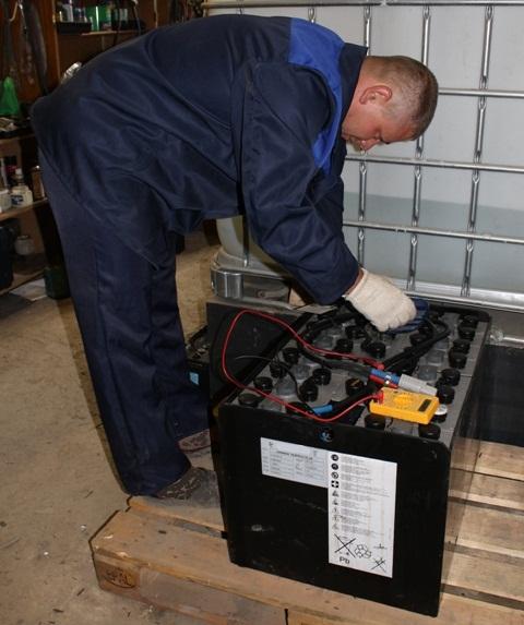 Диагноcтика, Обслуживание , ремонт тяговых Аккумуляторов