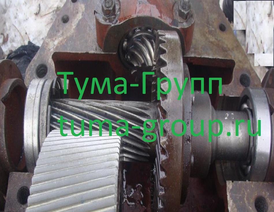 Ремонт и восстановление редукторов на плавучий кран Ганц 16/30.