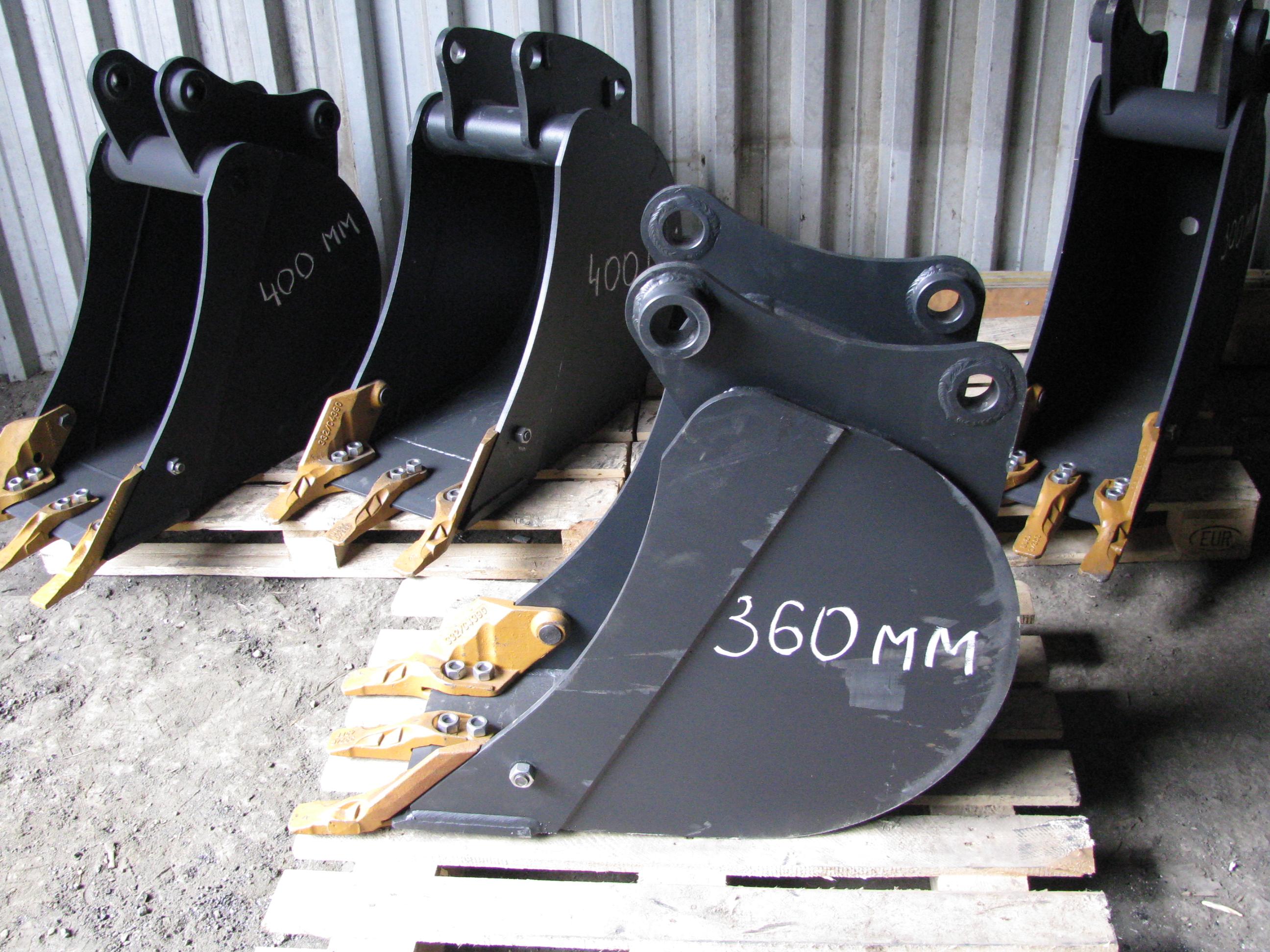 Ковш jcb 3cx джейсиби купить из наличия в Екатеринбурге на 300 360 400 мм